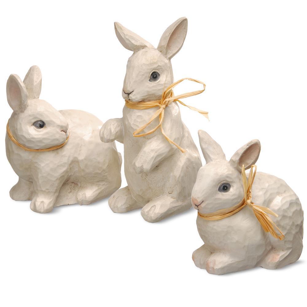 Rabbit Figures (Set of 3)