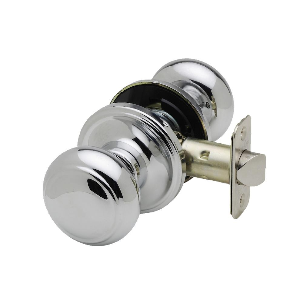 Colonial Polished Stainless Passage Hall/Closet Door Knob