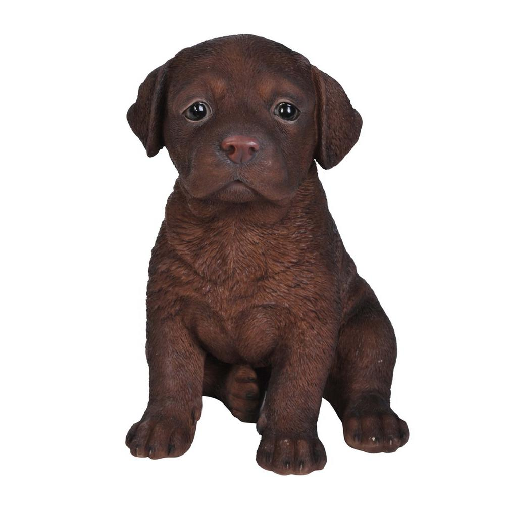 Betere Hi-Line Gift Chocolate Labrador Puppy-87771-S - The Home Depot BG-02