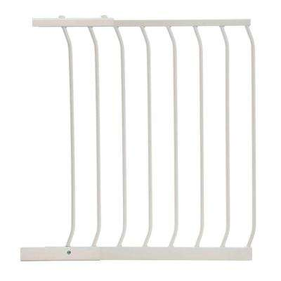 24.5 in. Gate Extension for White Chelsea Standard Height Child Safety Gate