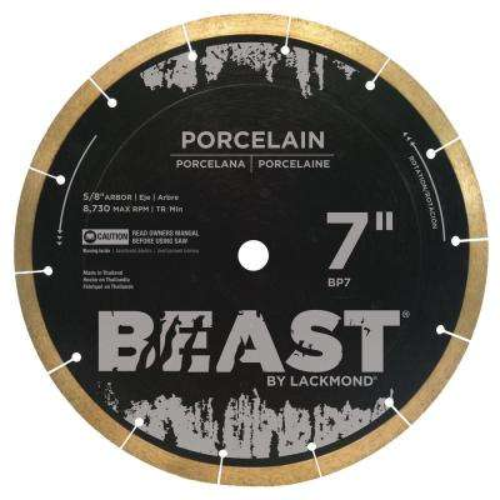 Pro Series 7 in. Wet Porcelain Blade
