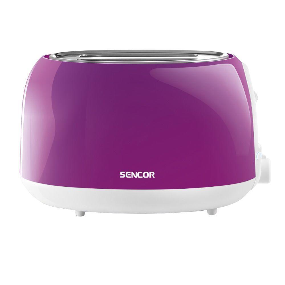 2-Slice Solid Purple Toaster