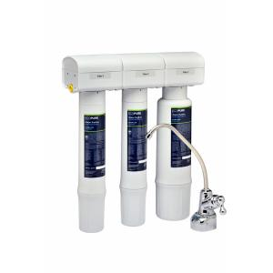 EcoPure Water Purifier Under Sink Drinking Water Filter System by EcoPure