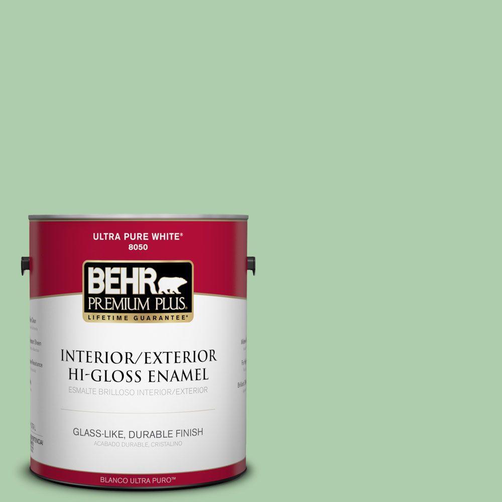 1-gal. #450D-4 Garden Room Hi-Gloss Enamel Interior/Exterior Paint