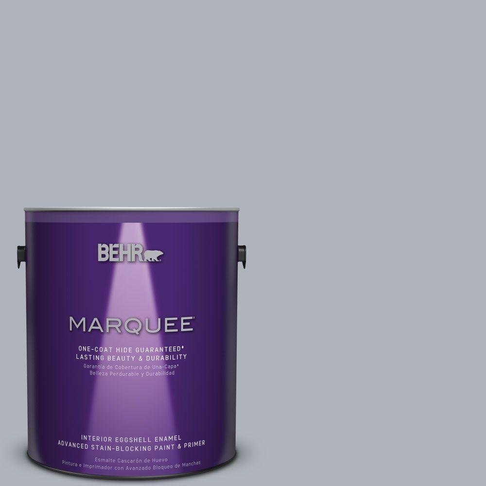 1 gal. #N540-3 Vanity One-Coat Hide Eggshell Enamel Interior Paint