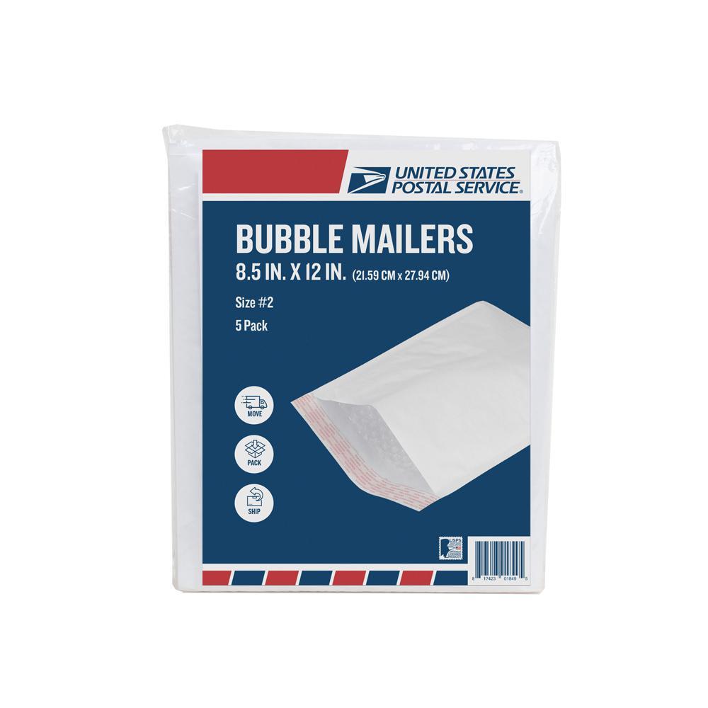 pratt retail specialties 2 8 5 in x 12 in paper bubble mailers