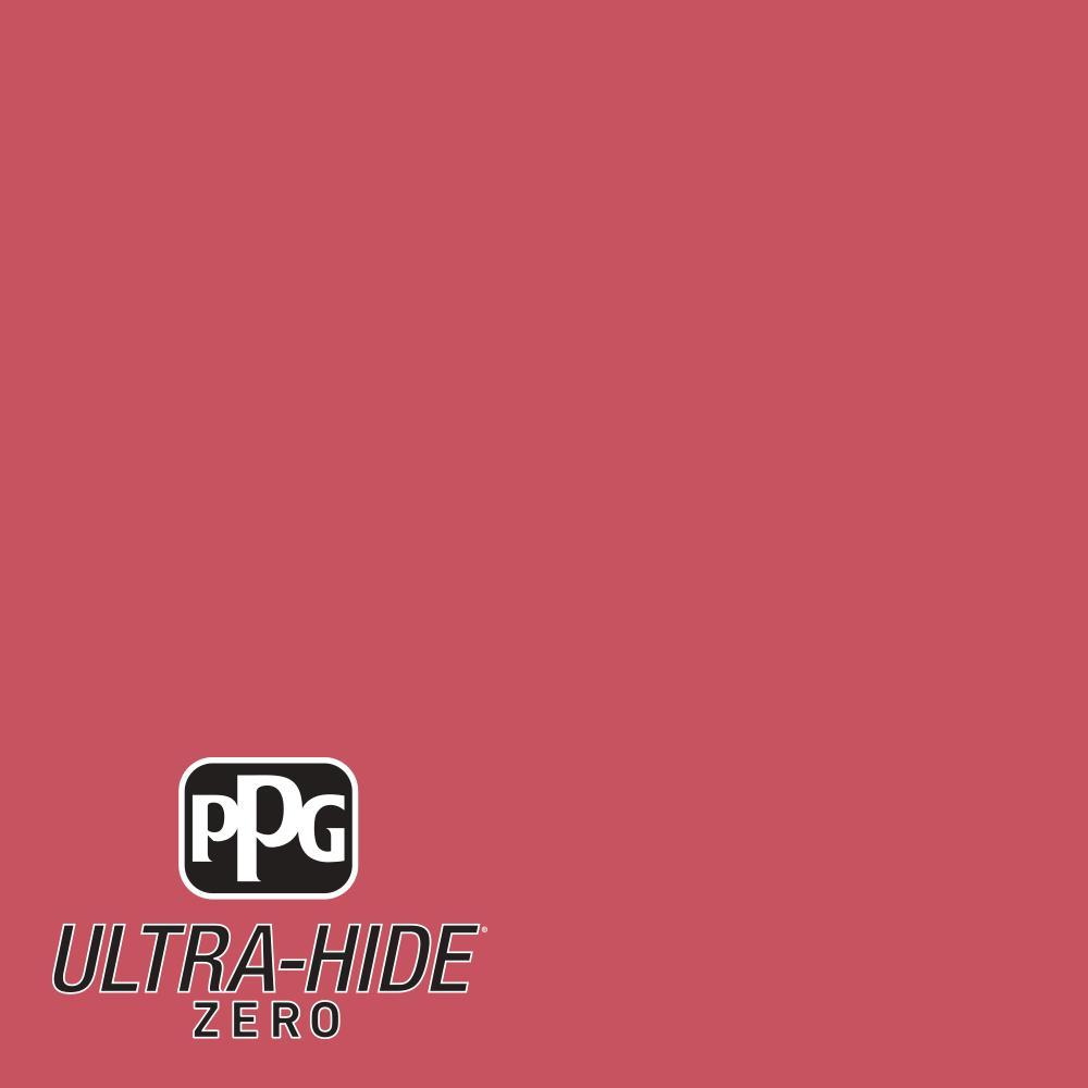 Hdpr34 Ultra Hide Zero Red Rose Flat Interior Paint