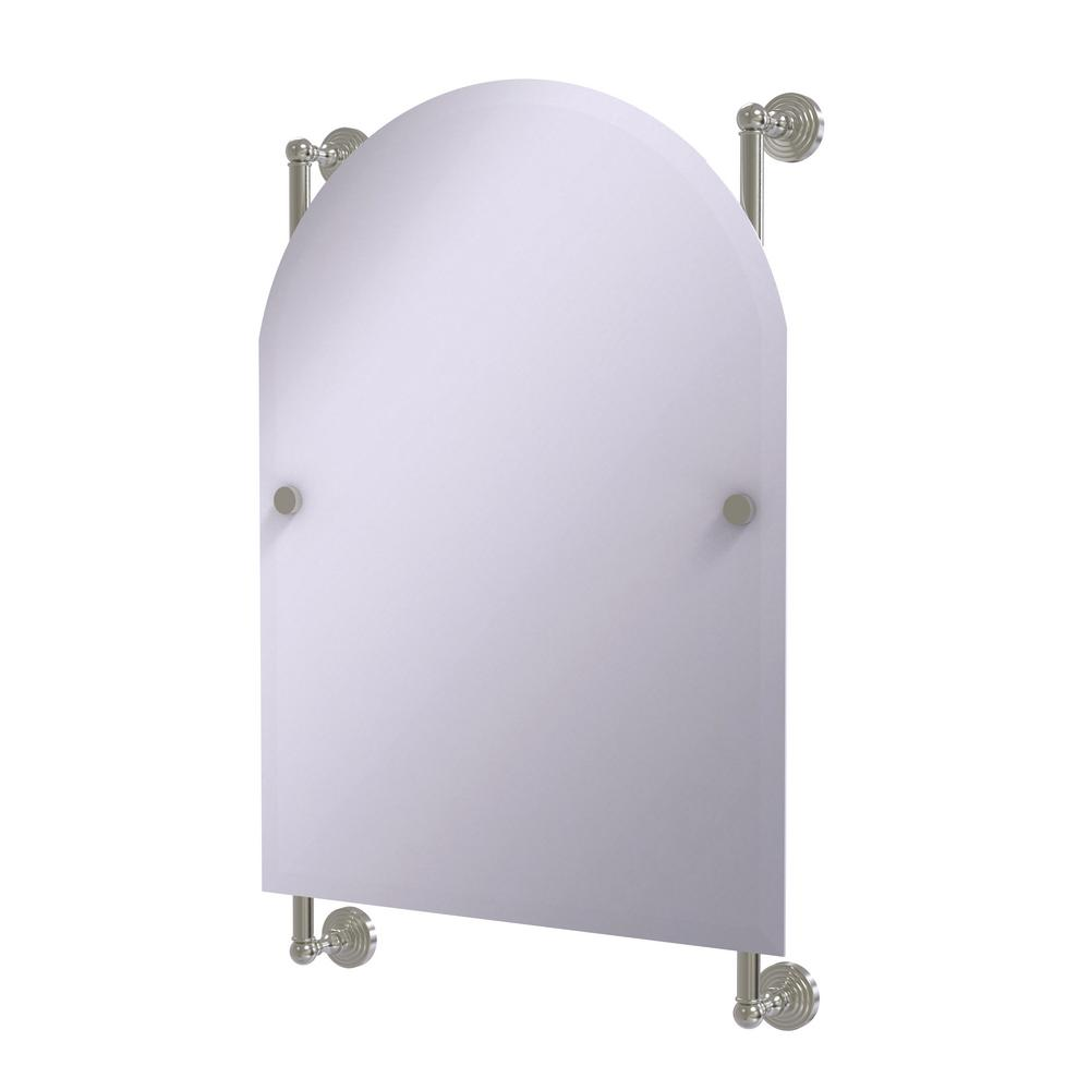 Waverly Place Collection 21 in. x 32 in. Arched Top Frameless