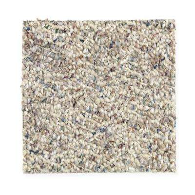 Carpet Sample - Kent - Color Palisade Berber 8 in. x 8 in.