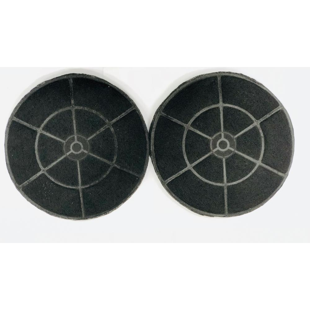 Winflo Range Hood Carbon/Charcoal Filters for Non-Ducted Recirculating Installation and Replacement (Set of 2)