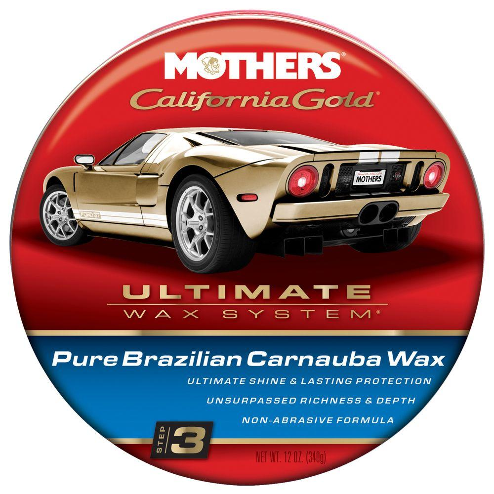 12 oz. California Gold Pure Brazilian Carnauba Wax (Case of 6)