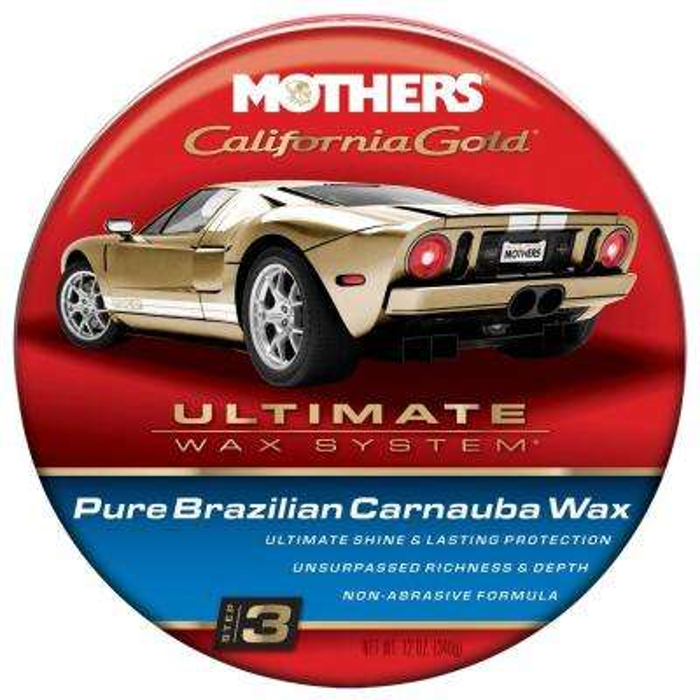 12 oz. California Gold Pure Brazilian Carnauba Wax (Case of 6)