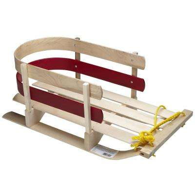 Wooden Pull Sleigh