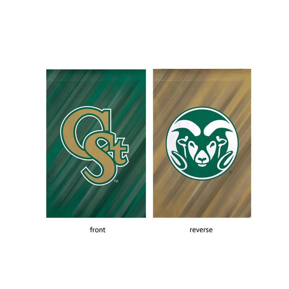 NCAA 18 in. x 12.5 in. Colorado State University Suede Garden