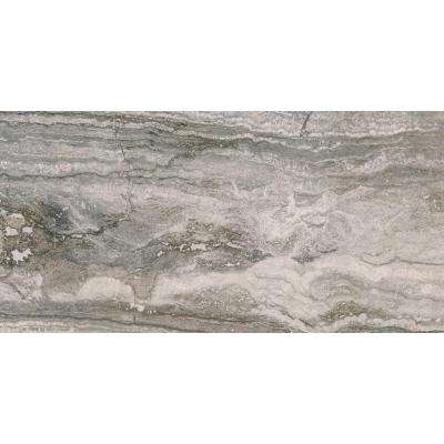 Alaska Gray Splitface 12 in. x 12 in. x 10mm Marble Mesh-Mounted Mosaic Tile (10 sq. ft. / case)