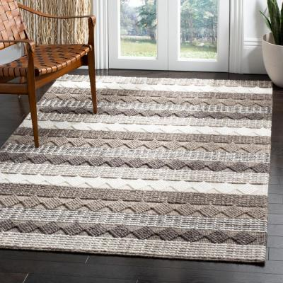 Natura Gray/Ivory 5 ft. x 8 ft. Area Rug