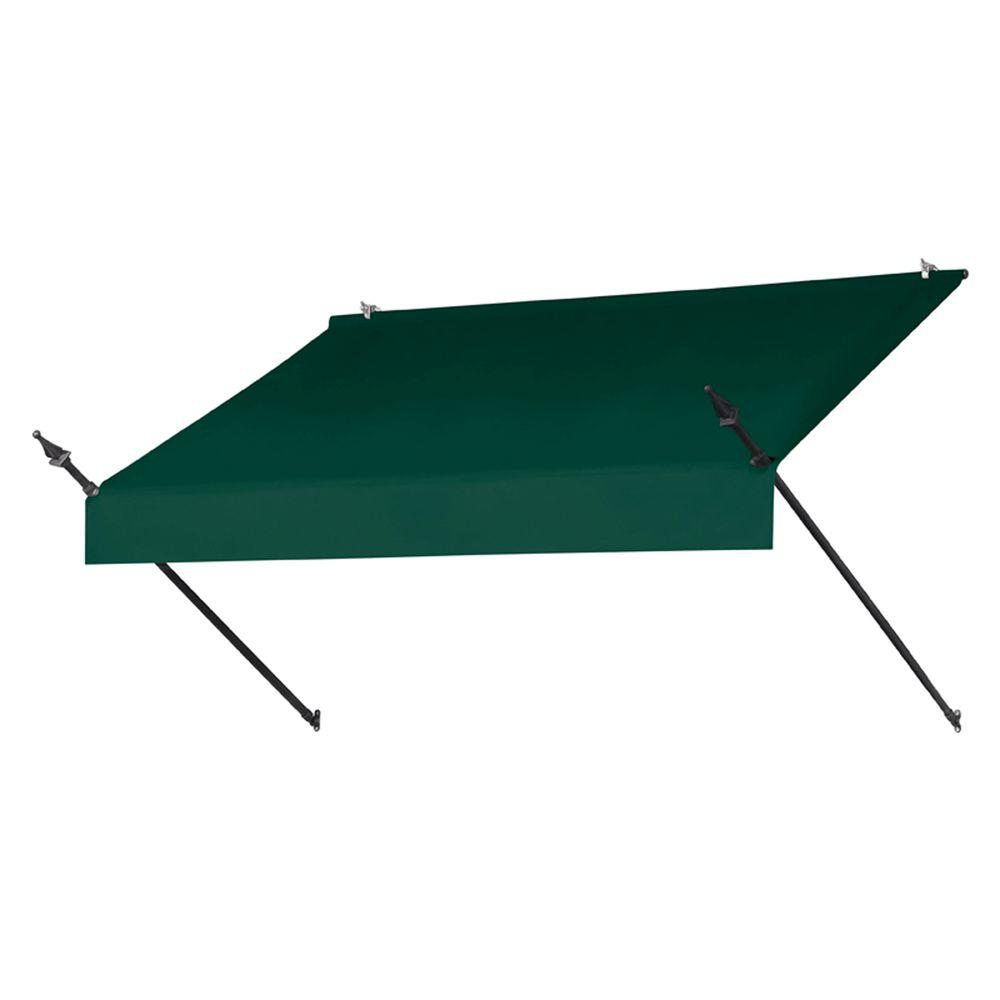 6 ft. Designer Manually Retractable Awning (36.5 in. Projection) in Forest