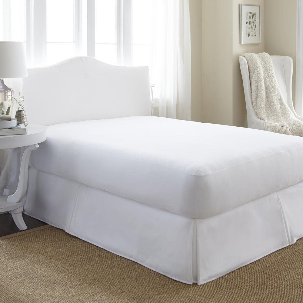 Premium Twin Terry Cloth Waterproof Polyester Mattress Protector
