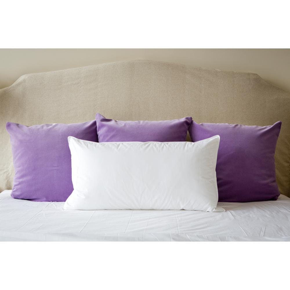 Side Sleeper/Firm Fill Down Alternative King Size Pillow