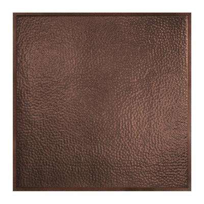Chicago 2 ft. x 2 ft. Lay-In Tin Ceiling Tile in Penny Vein (Case of 5)