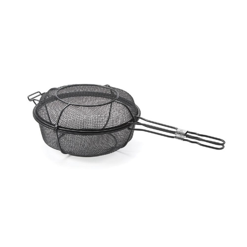 Chefs Outdoor Dual Skillet and Shaker Basket (Non-Stick)