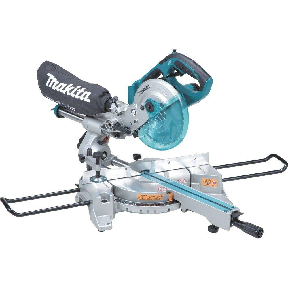 Makita 18 volt lxt lithium ion 7 12 in cordless dual slide store so sku 1001188080 greentooth Image collections