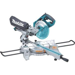 Makita 18-Volt LXT Lithium-Ion 7-1/2 inch Cordless Dual Slide Compound Miter Saw... by Makita