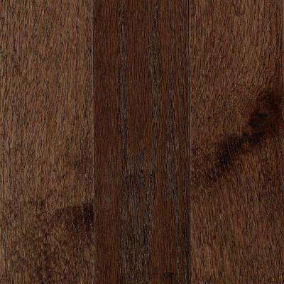 Franklin Dark Truffle Oak 3/4 in. Thick x 3-1/4 in. Wide x Varying Length Solid Hardwood Flooring (17.6 sq. ft. / case)