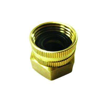 Universal Dual Swivel Brass Double Female Connector, 3/4 in. by 3/4 in. for SPX Series and Others