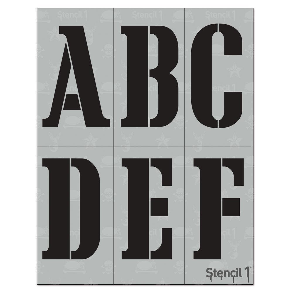 Cargo Font Stencil