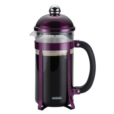 Maximus 8-Cup French Press in Purple