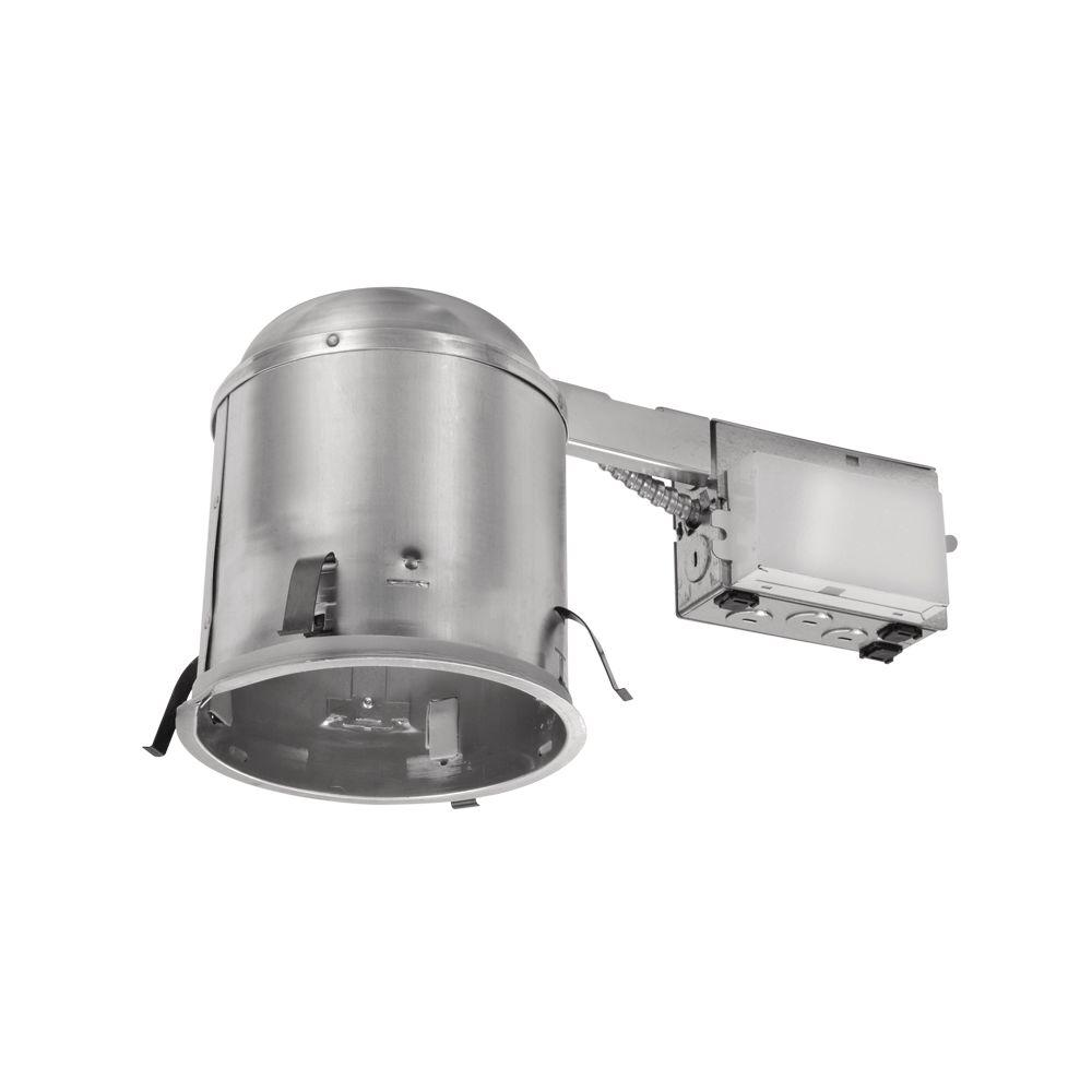 Halo Recessed Lighting Vapour Barrier : Halo h in aluminum cfl recessed lighting housing for