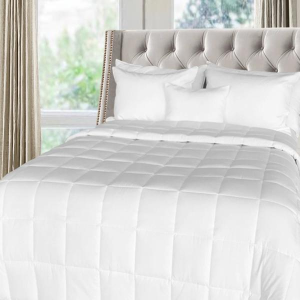 Extra Warmth White King Down Alternative Comforter