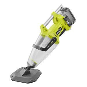 Ryobi 18-Volt ONE+ Lithium-Ion Cordless Underwater Stick Pool Vacuum Kit for In Ground Pools, Above Ground Pools, and Spas