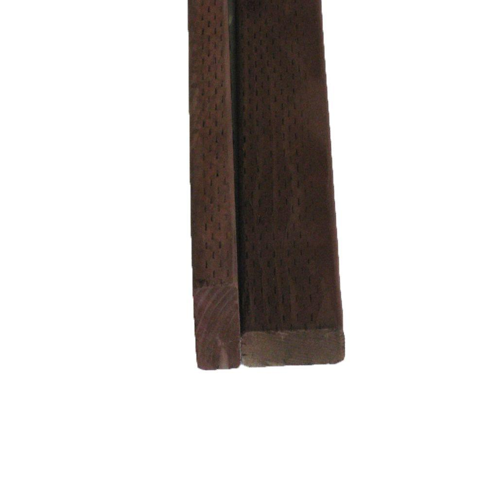 Pressure-Treated Lumber DF Brown Stain (Common: 2 in. x 4 in. x 16 ...