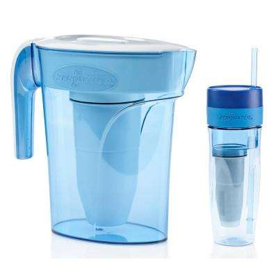 6-Cup Pitcher and Portable Filtration Tumbler