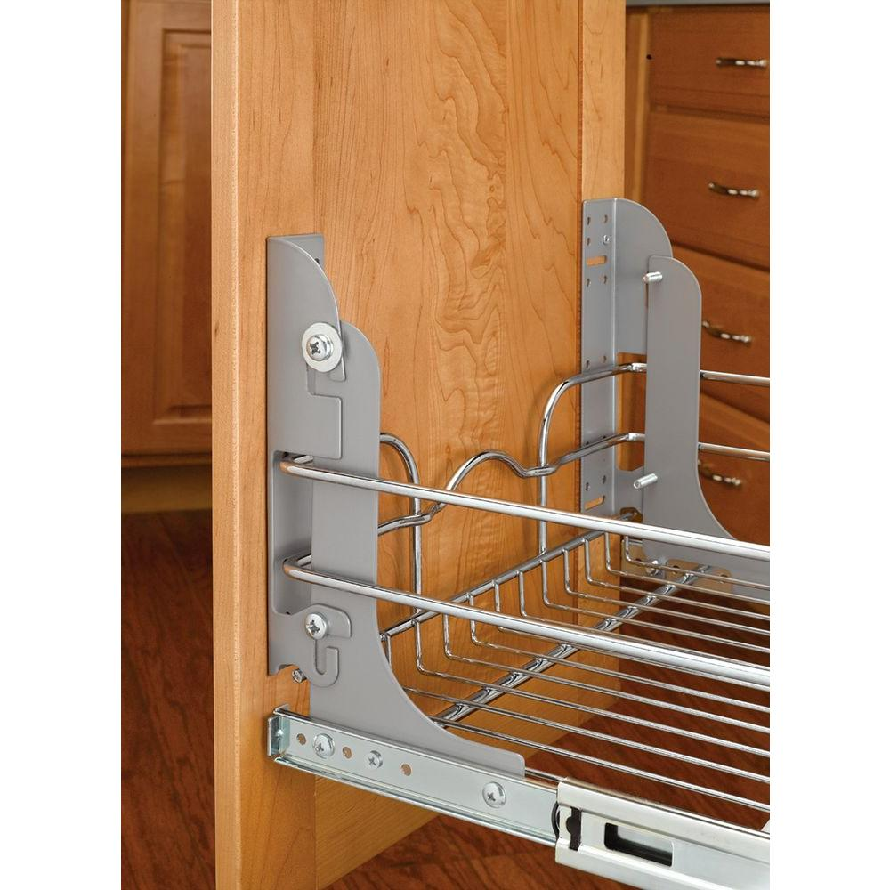 Rev A Shelf 8 In H X 1 5 In W X 2 13 In D Metal Door