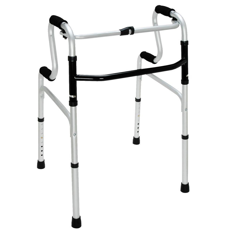 HealthSmart Sit-to-Stand Walker in Silver