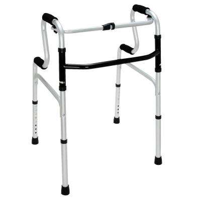 Sit-to-Stand Walker in Silver
