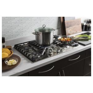 13 Ge Profile 36 In Gas Cooktop