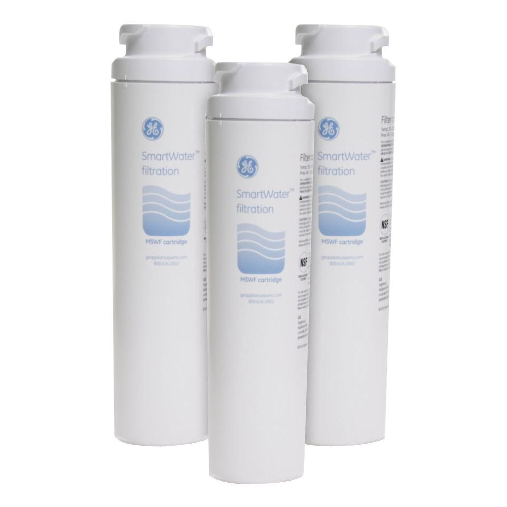 Mswf Genuine Replacement Refrigerator Water Filter 3 Pack