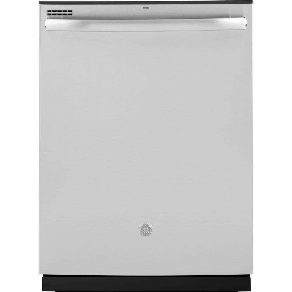 GE Top Control Tall Tub Dishwasher in Stainless Steel with Steam Cleaning, ENERGY STAR, 50 dBA