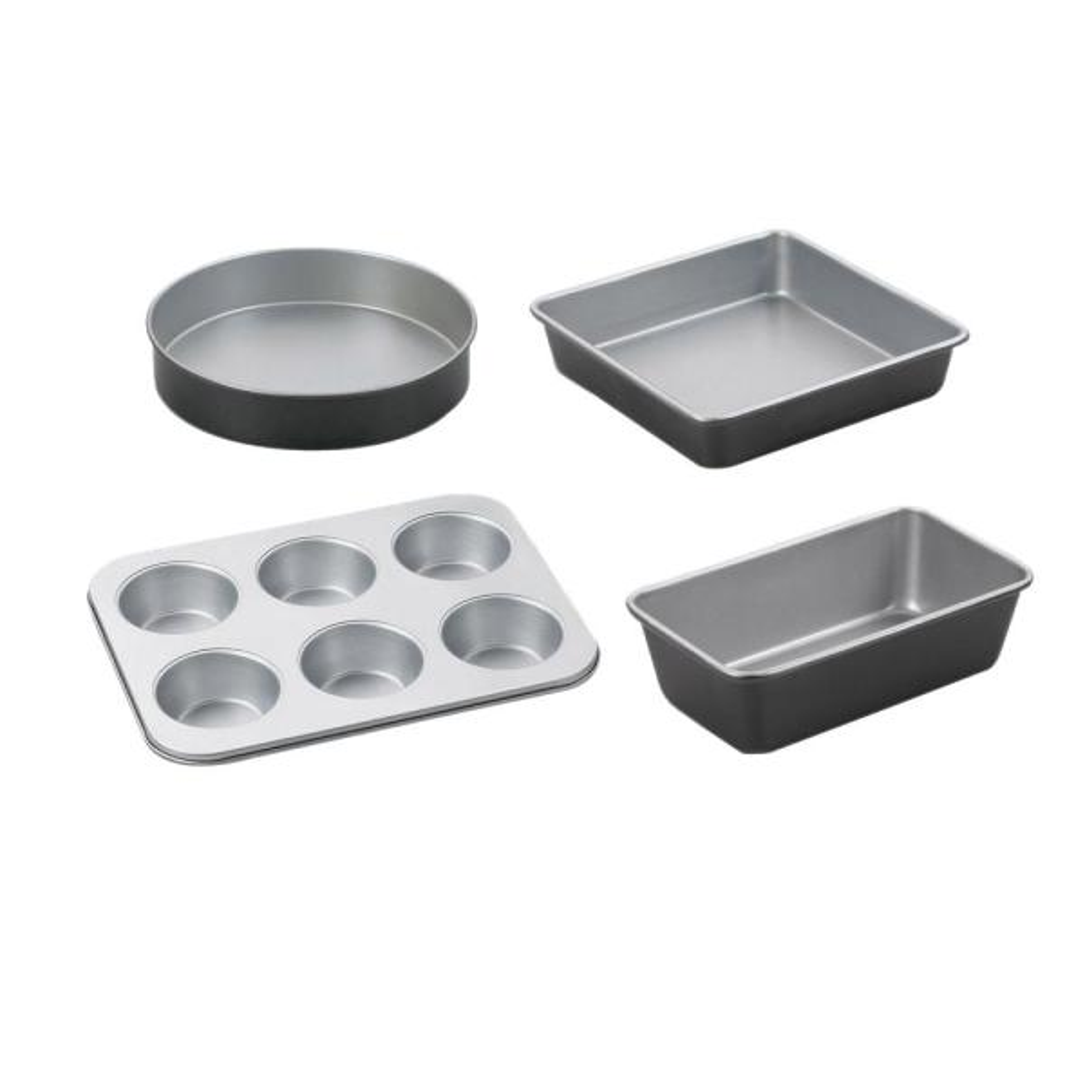 Cuisinart Chef's Classic 4-Piece Black Bakeware Set AMB-4