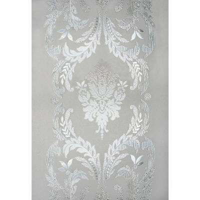 12 in. x 83 in. Chateau Sidelight Decorative Window Film
