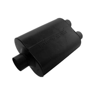 Universal Super 40 Muffler - 3.00 Center In / 2.50 Dual Out