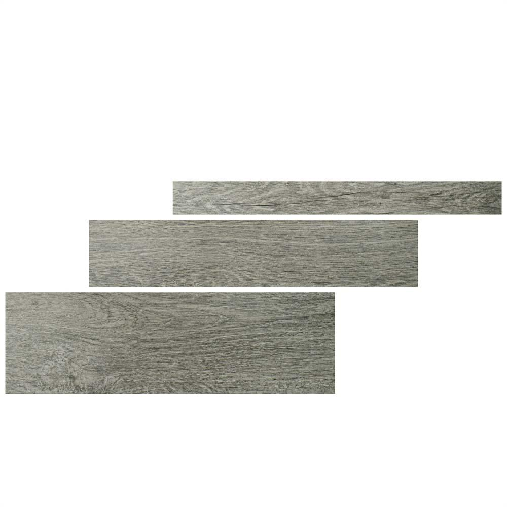 Merola Tile Rovere Gris 8 in. x 26 in. Porcelain Floor and Wall Tile (13 sq. ft. / Case)