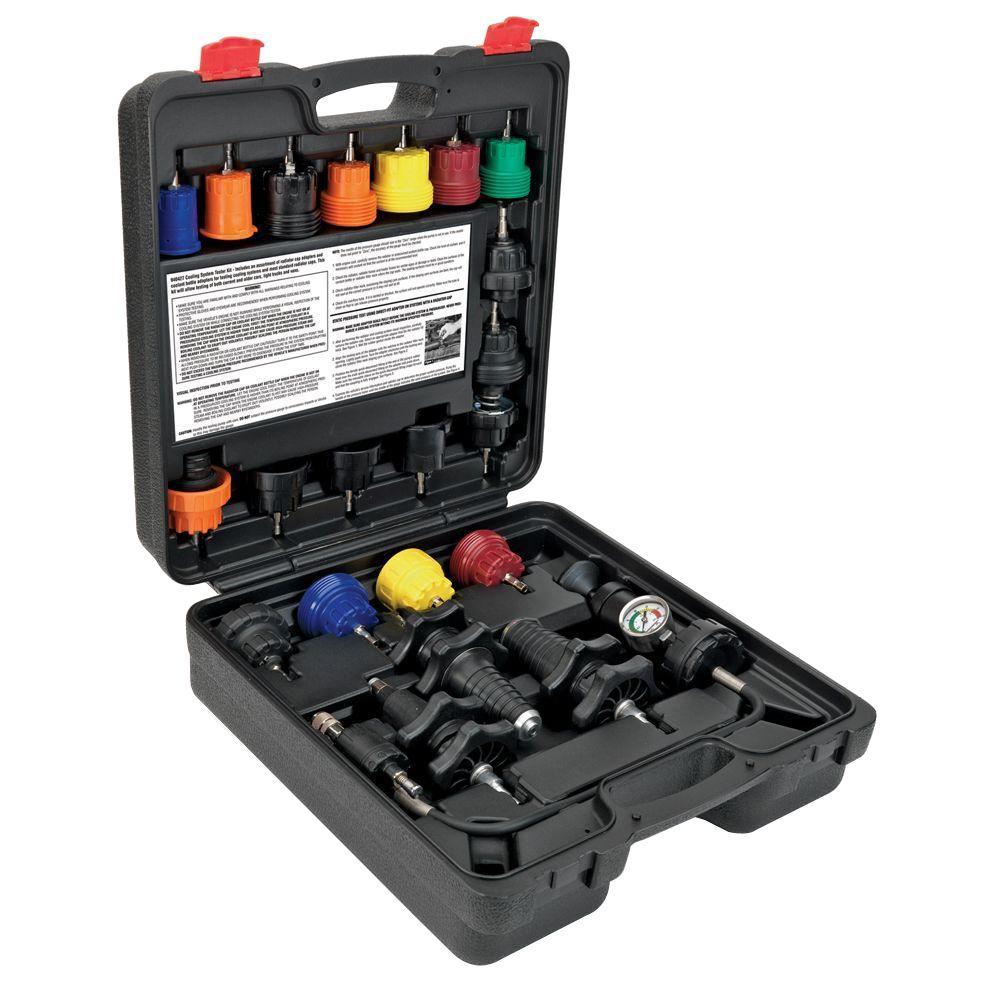 22-Piece Cooling System Pressure Testing Kit