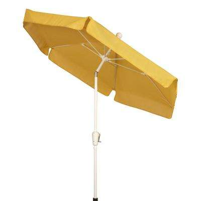 7.5 ft. Patio Umbrella in Yellow