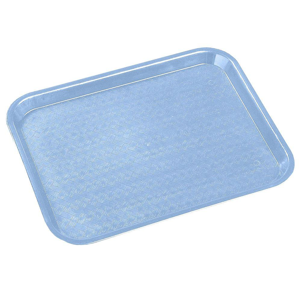 Carlisle 14 in. x 18 in. Polypropylene Serving/Food Court Tray in Slate Blue (Case of 12)