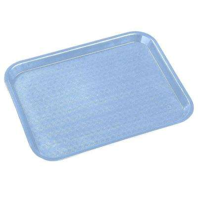 14 in. x 18 in. Polypropylene Serving/Food Court Tray in Slate Blue (Case of 12)